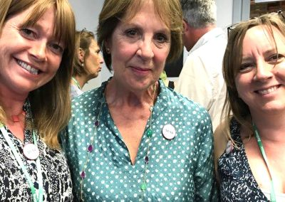 DAME PENELOPE WILTON WITH ROBIN WEAVER AND KARIN PAYNTER